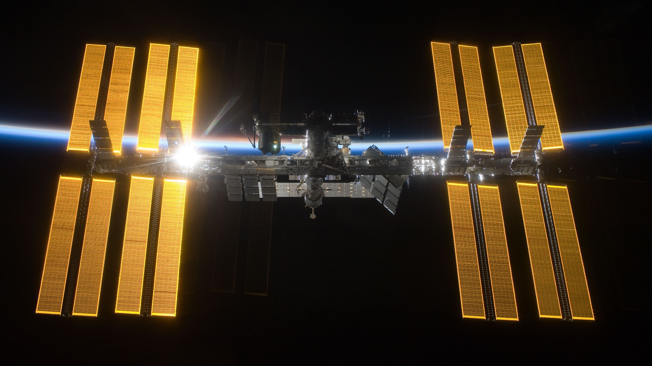 The International Space Station - Image Credit: NASA/ESA