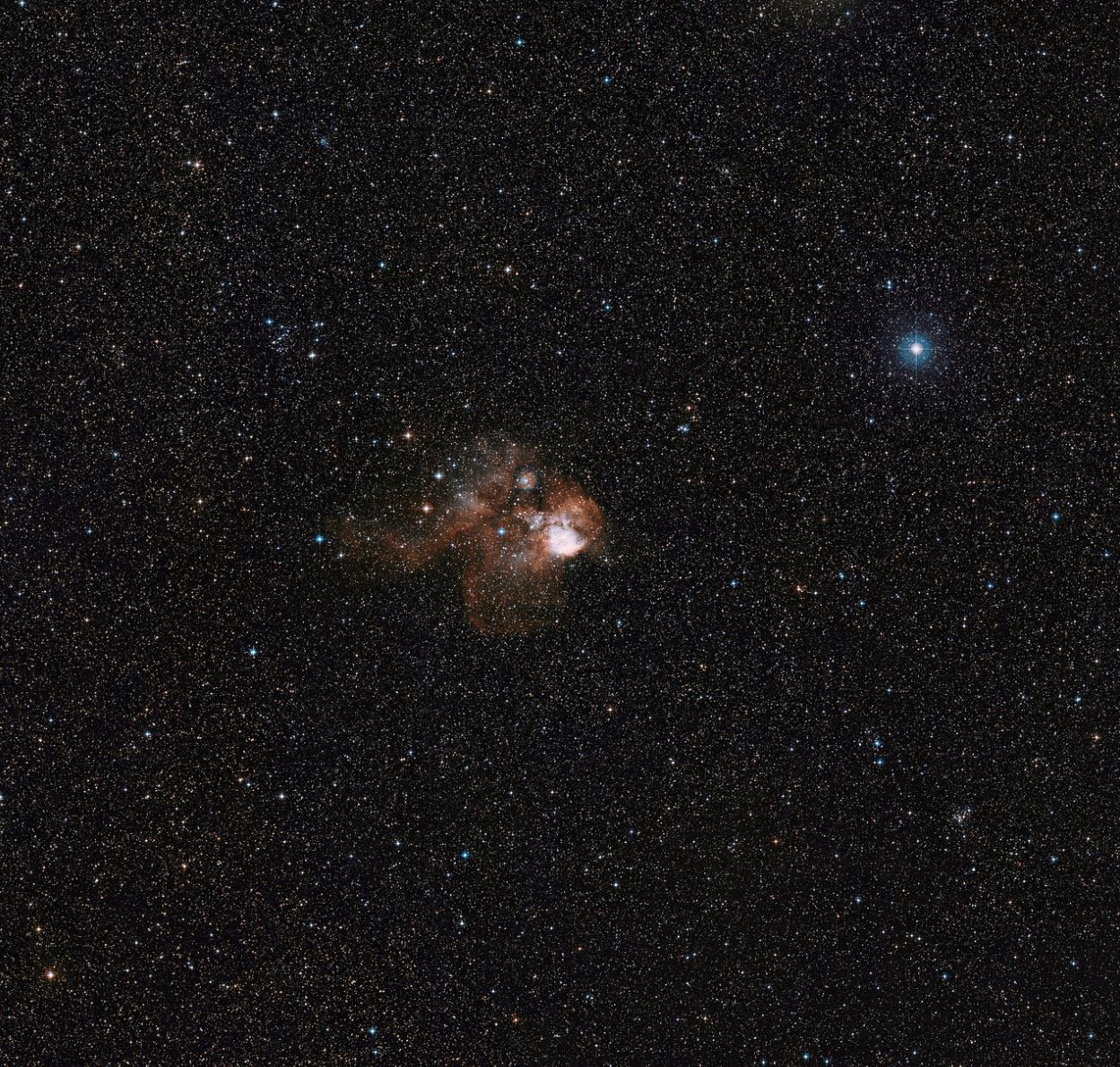 Image Credit: ESO/Digitized Sky Survey 2. Acknowledgment: Davide De Martin
