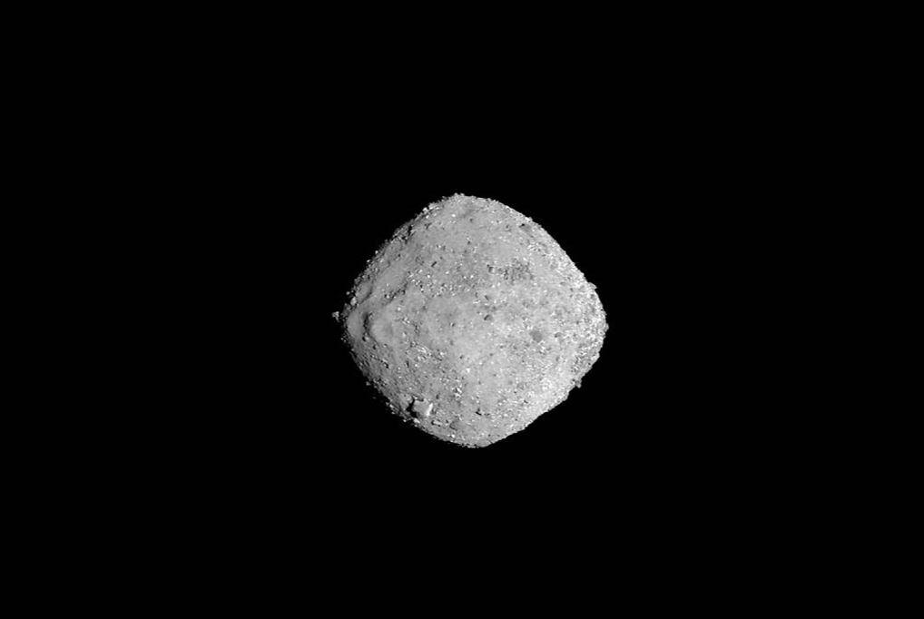 Bennu as seen on November 16 - Image Credit:NASA/Goddard/University of Arizona
