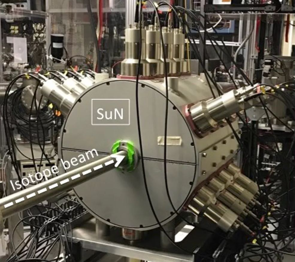 The SuN detector at the National Superconducting Cyclotron Laboratory measures gamma rays and helps researchers study the properties of rare isotopes. - Image Credit: Artemis Spyrou,  CC BY-ND