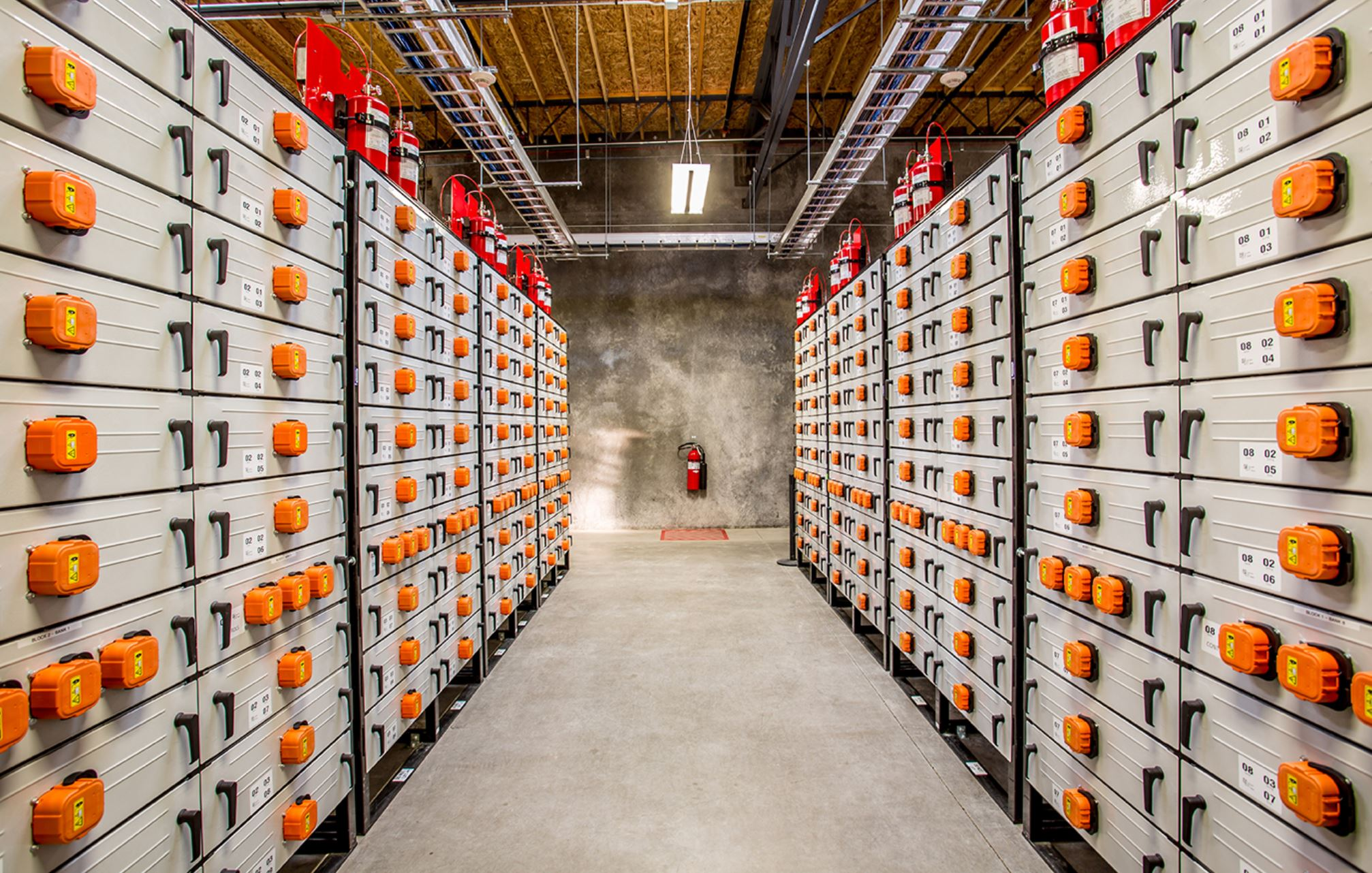 This is what a 5-megawatt, lithium-ion energy storage system looks like.- Image Credit:  Pacific Northwest National Laboratory