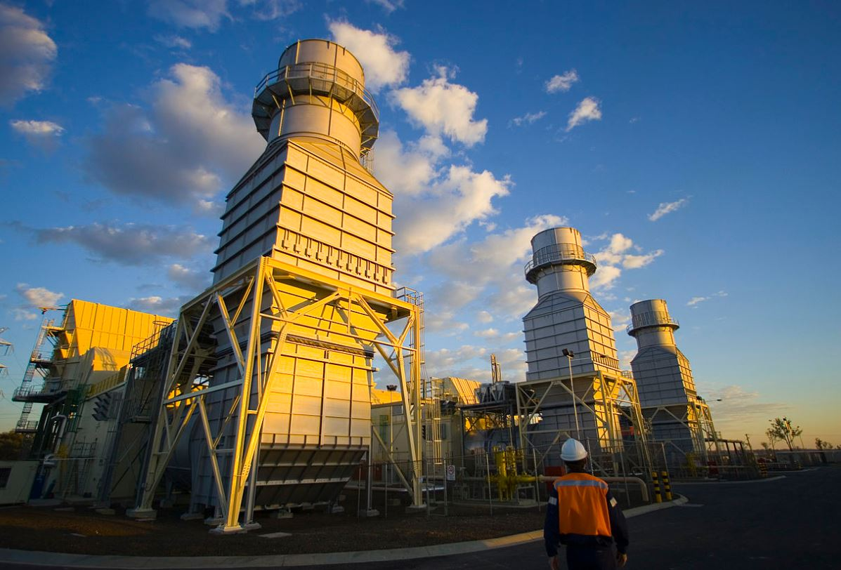 Three natural gas power plants slated to shut down by 2029.  - Image Credit:  Steven Bradley via Wikimedia Commons