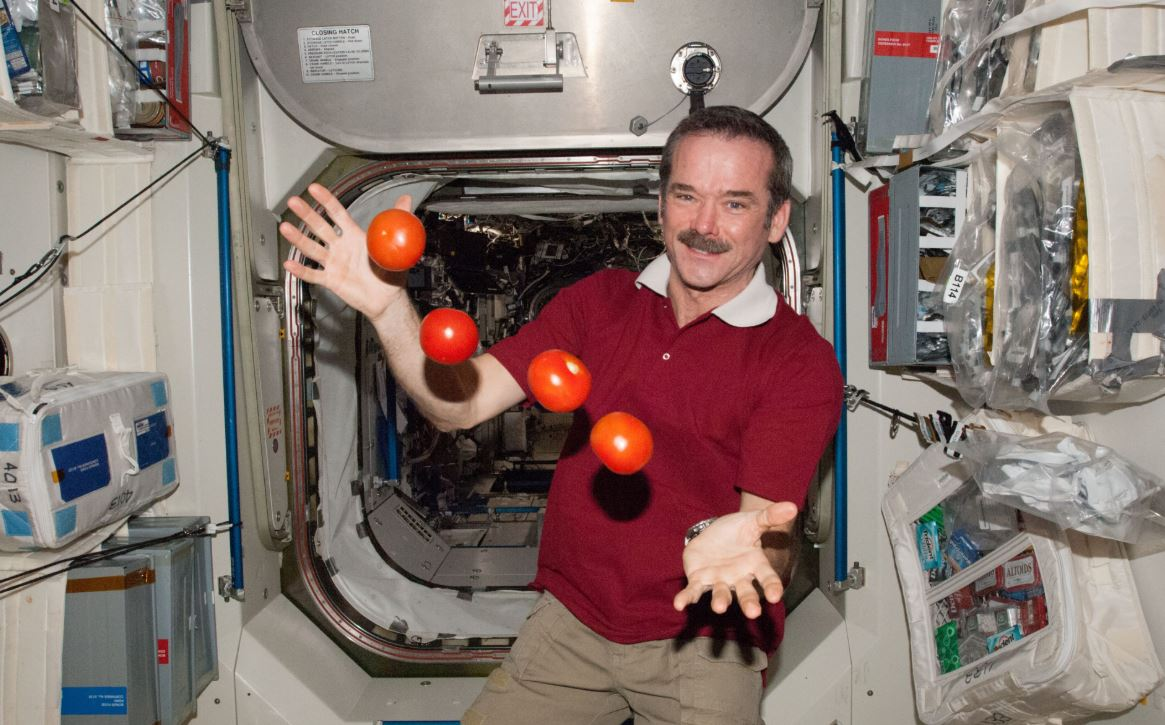 Chris Hadfield has experienced the difficulties with making decisions in space. - Image Credit: NASA