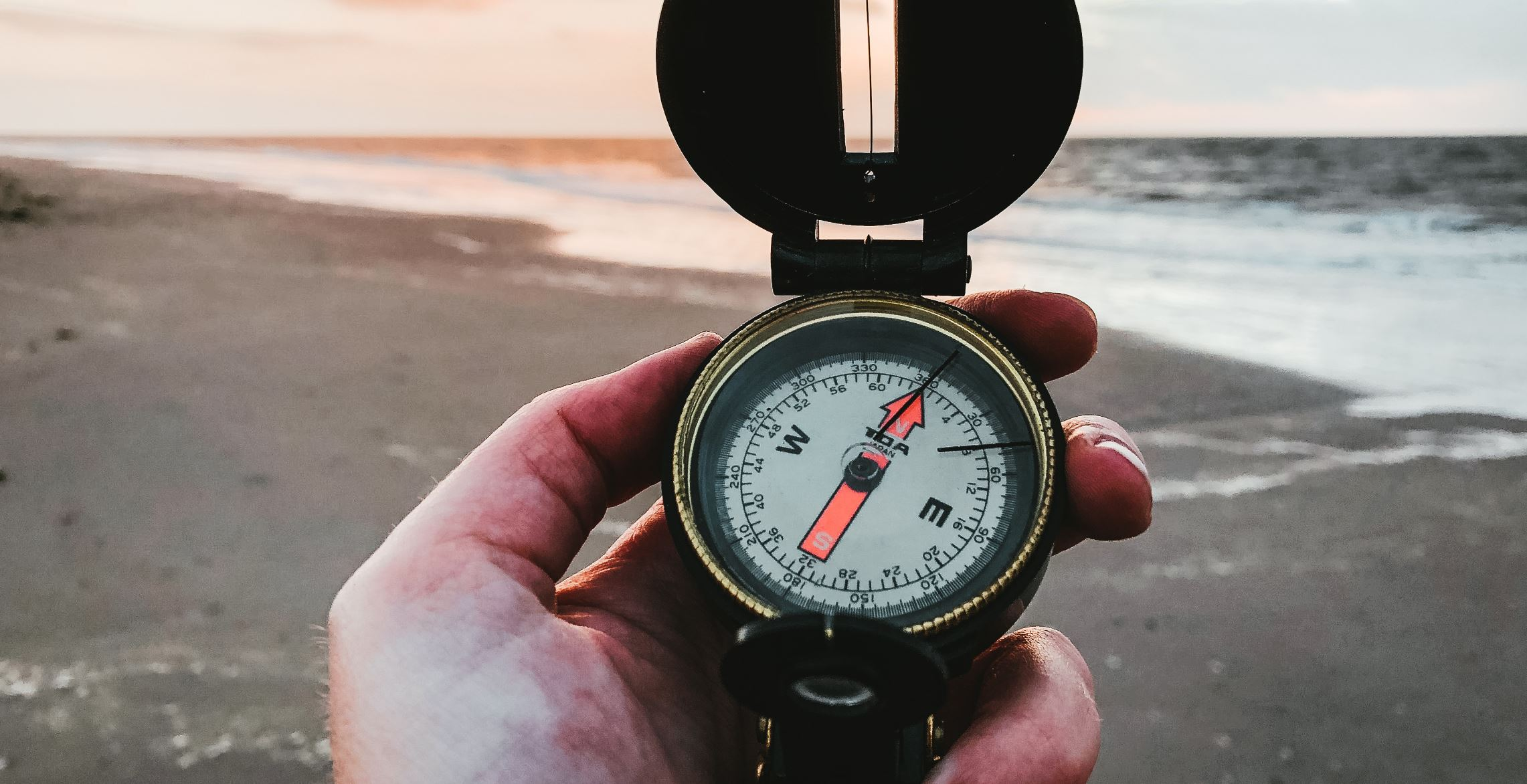 Do you have a magnetic compass in your head?  -  Image Credit: Denise Jans via Unsplash