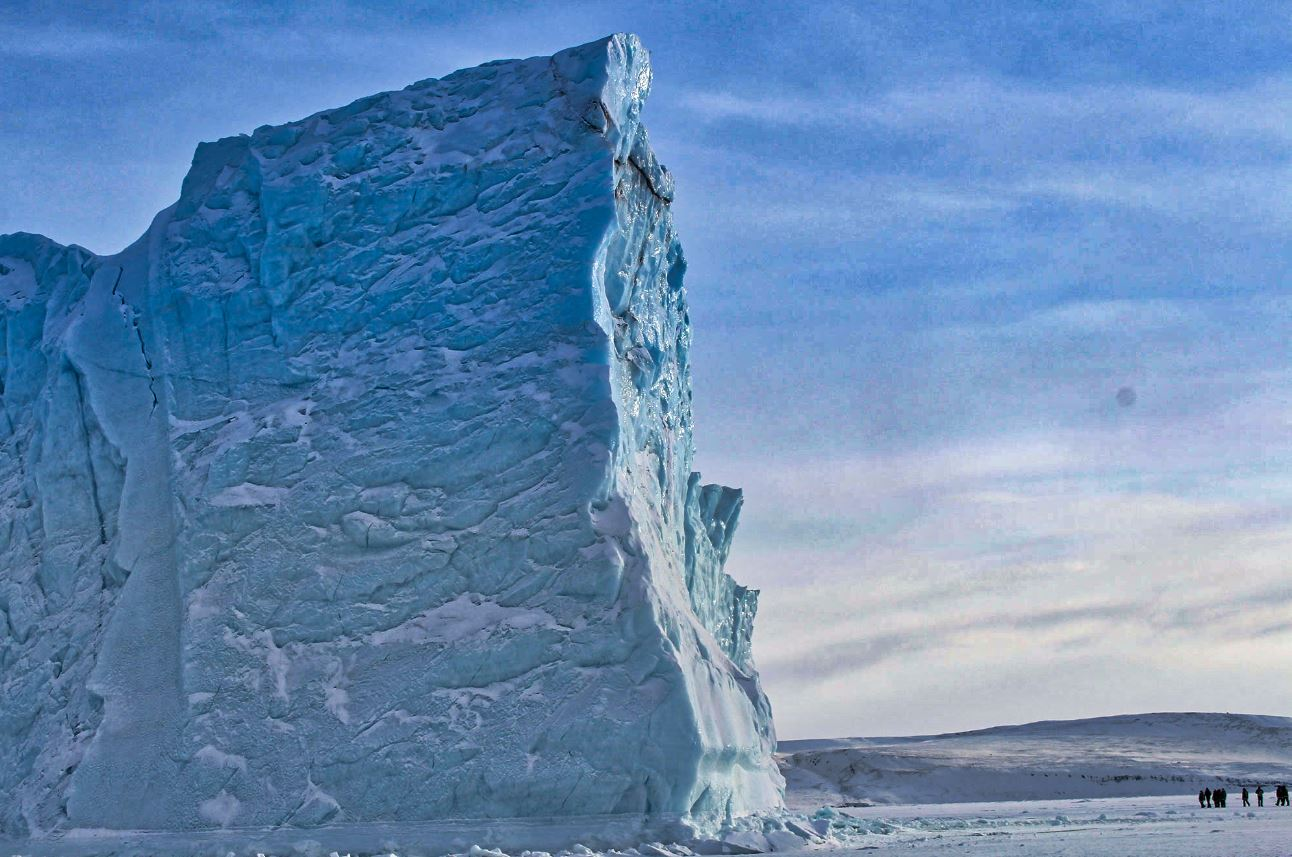 A large iceberg near Thule Air Base, Greenland. - Image Credit: NASA - hdr edit by Universal-Sci