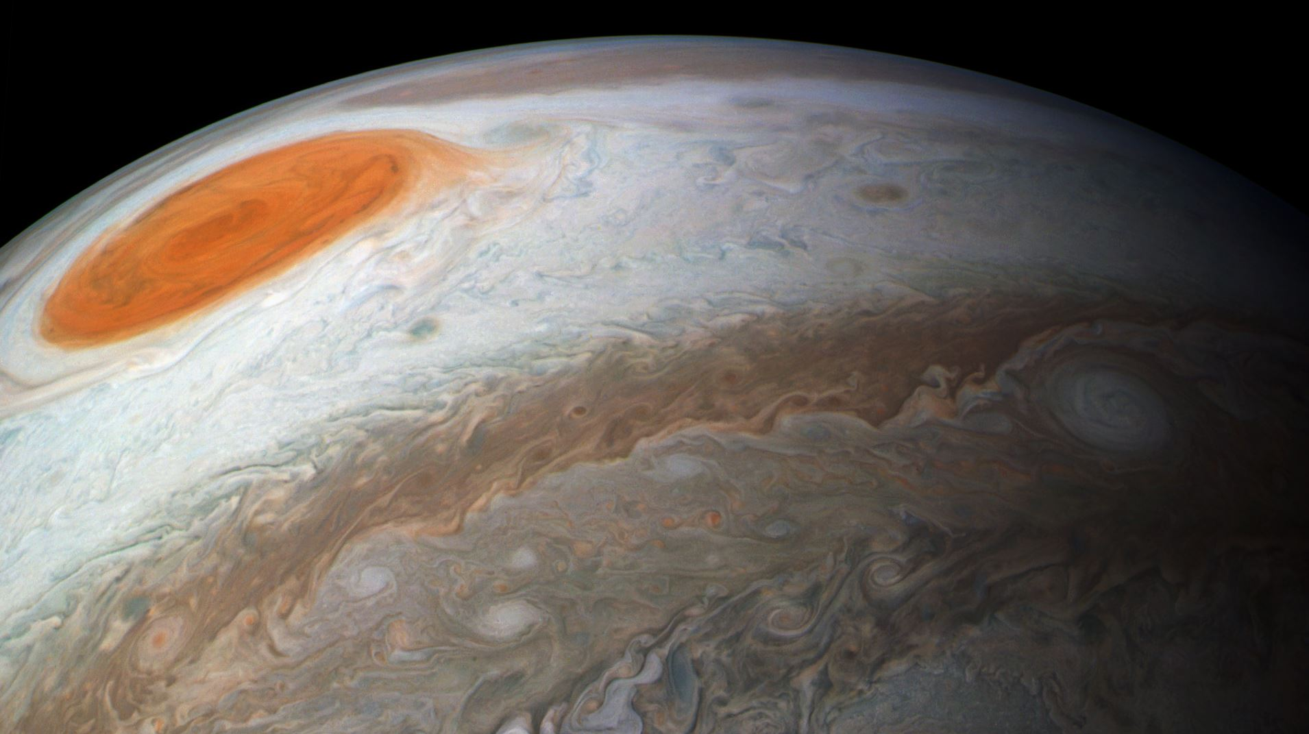 Jupiter's Great Red Spot - Image Credit:  Sean Doran via flickr
