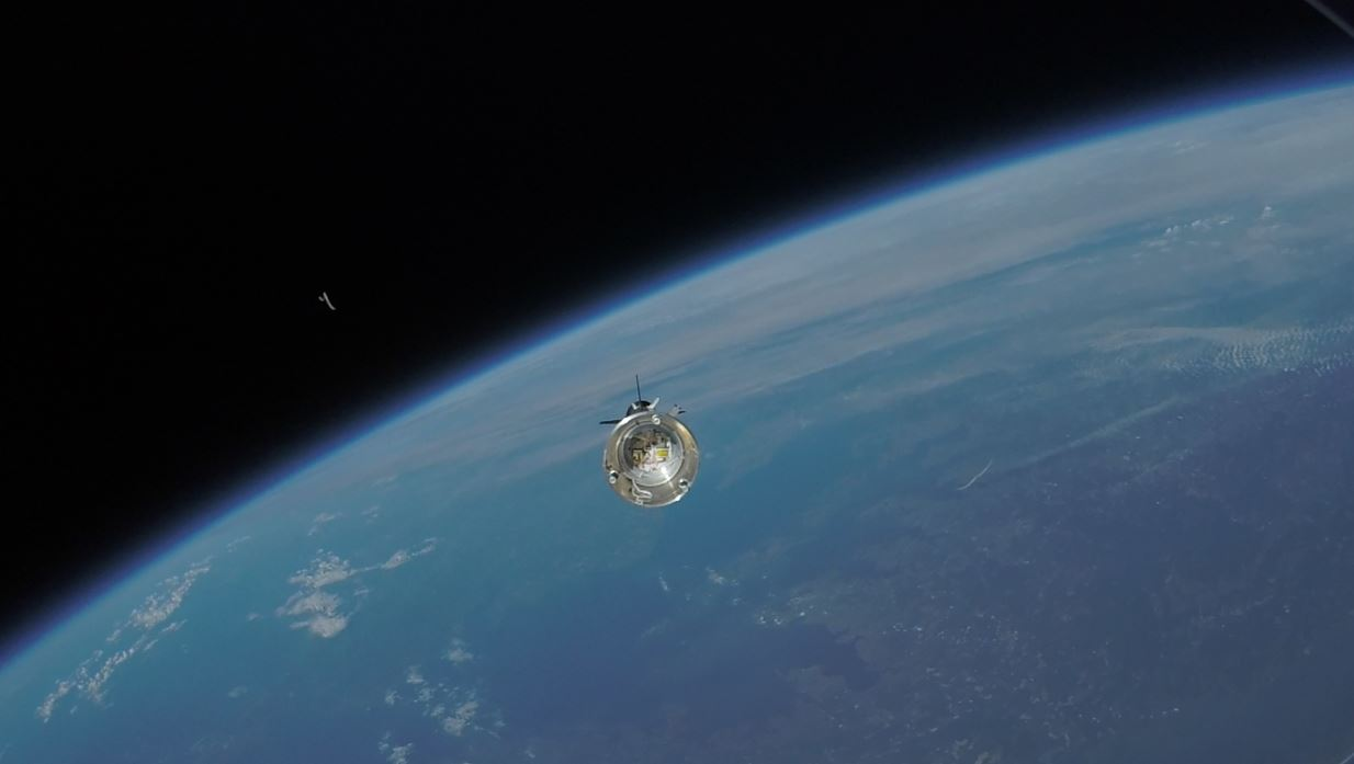 ASPIRE payload separates from its booster. - Image Credits: NASA/JPL/Caltech