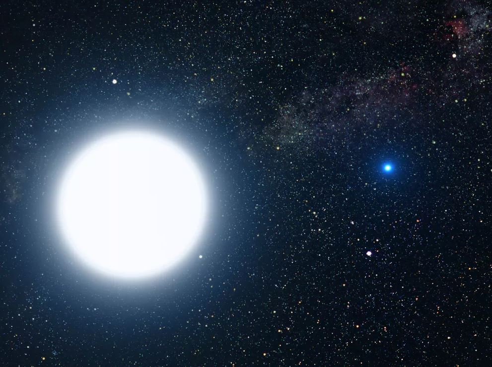 Artist's impression of Sirius B, the closest known white dwarf. - Image Credit: NASA, ESA and G. Bacon (STScI)