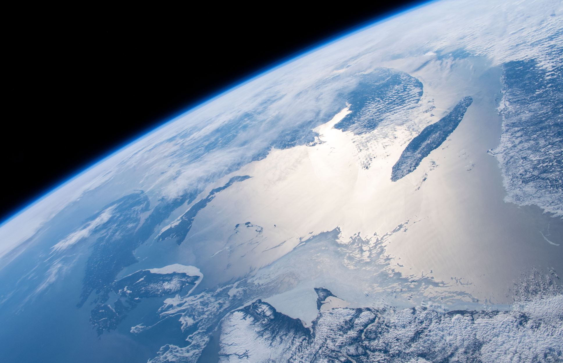Earth's rather stunning ocean as seen from space - Image Credit: NASA