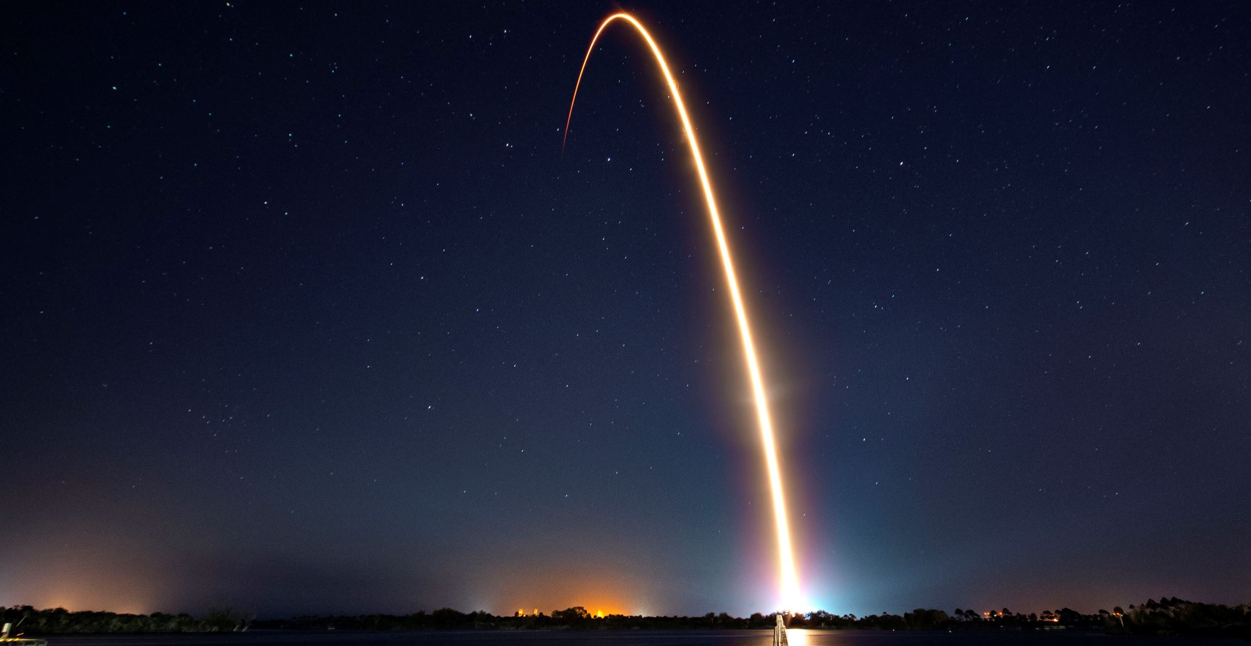 Launch of a satellite - Image Credit:  SpaceX via flickr