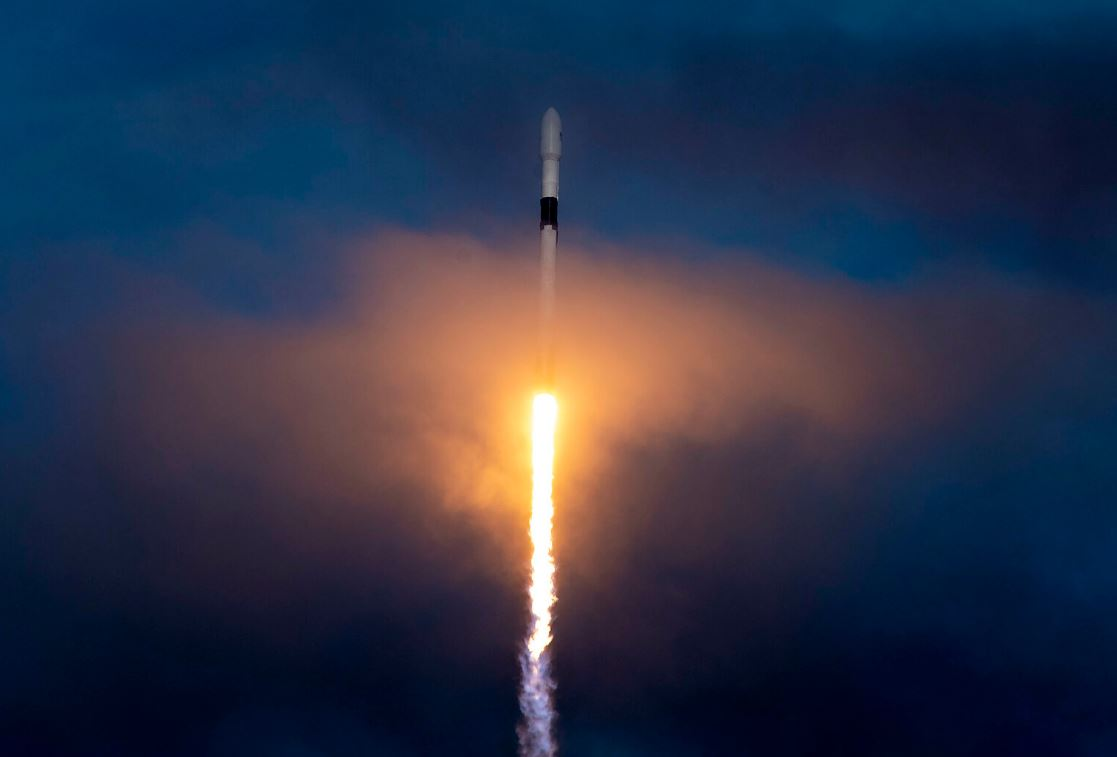 A SpaceX falcon 9 rockt was used to launch two of the company's test Starlink satellites back in February - Image Credit:  SpaceX via flickr