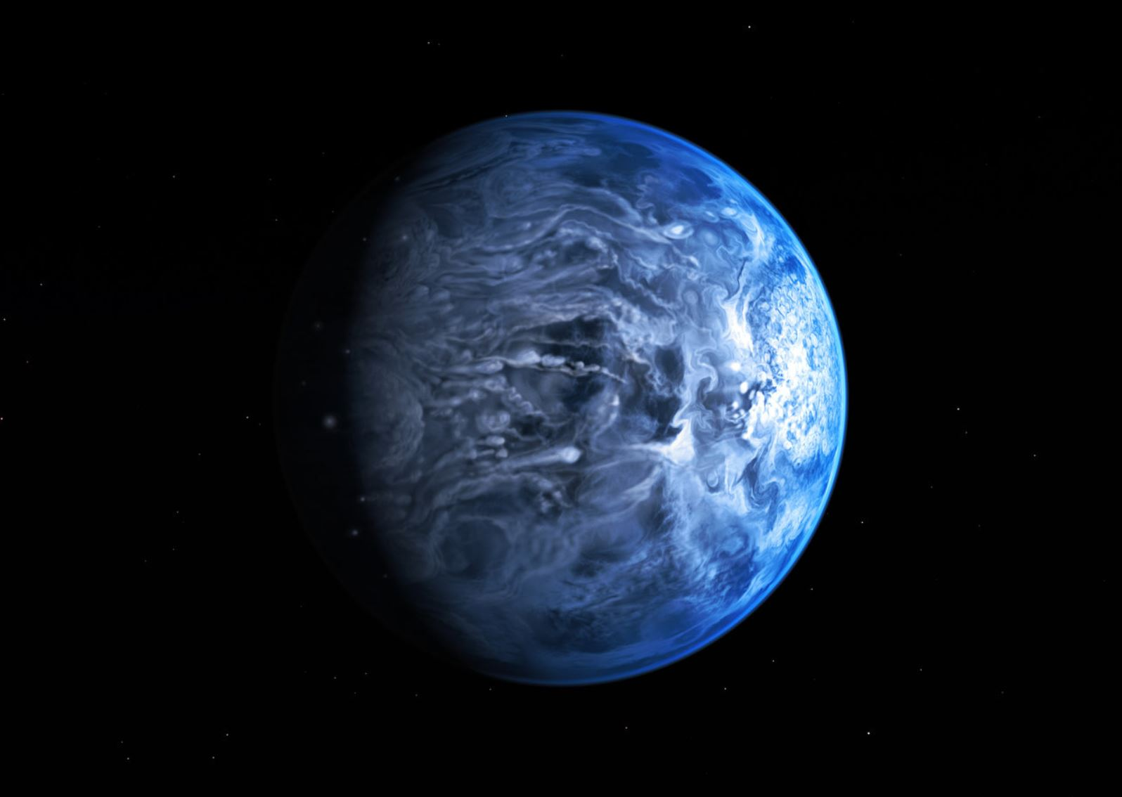 Artist impression of an exoplanet - Image credit: NASA, ESA, M. Kornmesser