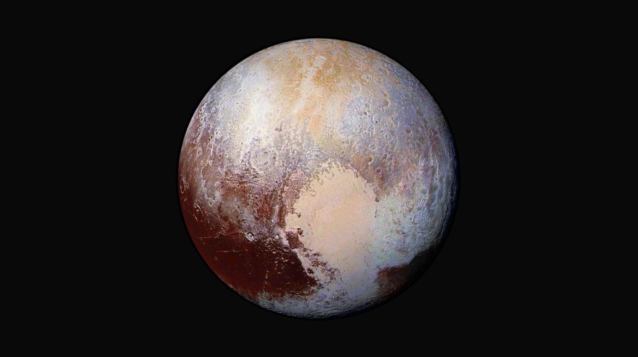 Just stunning! - Image credit: NASA/Johns Hopkins University Applied Physics Laboratory/Southwest Research Institute