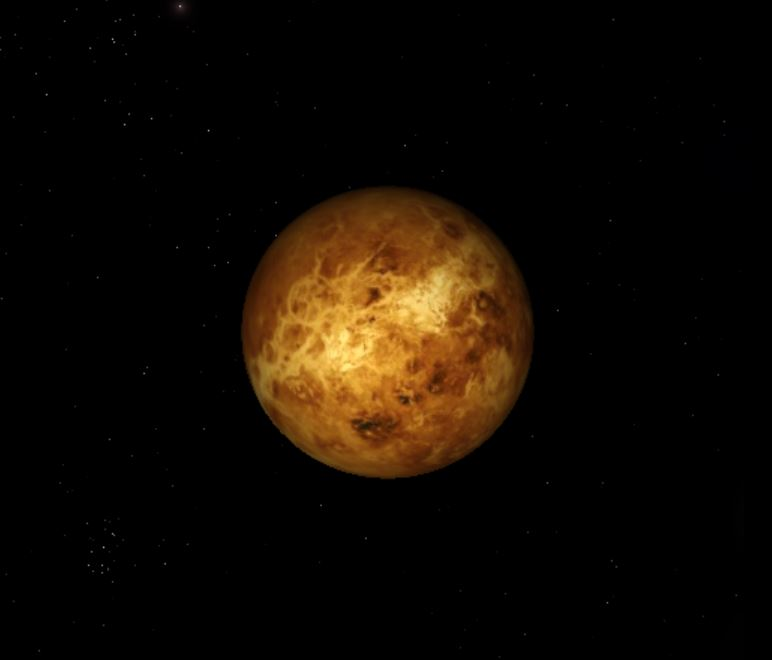 An Artist's impression of Venus. - Image Credit:  Blobbie244 via Wikimedia Commons