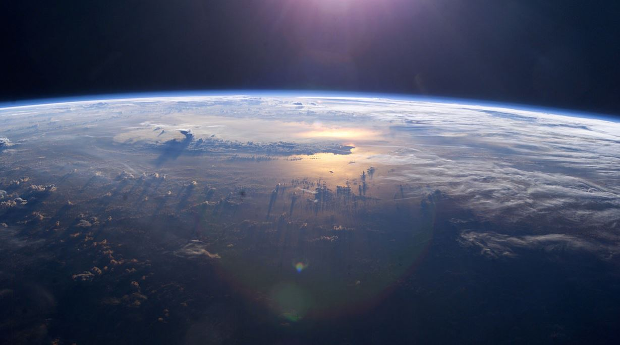 71 percent of the Earth's surface is water-covered - Image Credit:  NASA via Wikimedia Commons