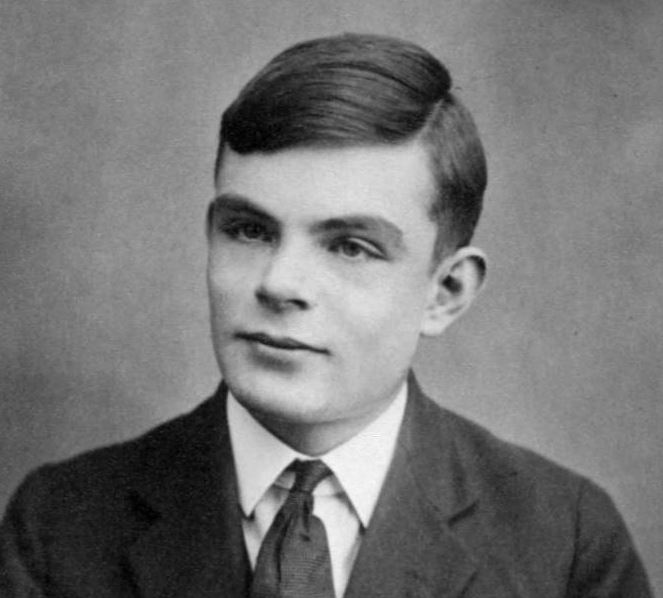 In 1950, WWII codebreaker Alan Turing created a test to see if a computer could fool a human into thinking it too was human. - Image source:  Wikimedia Commons