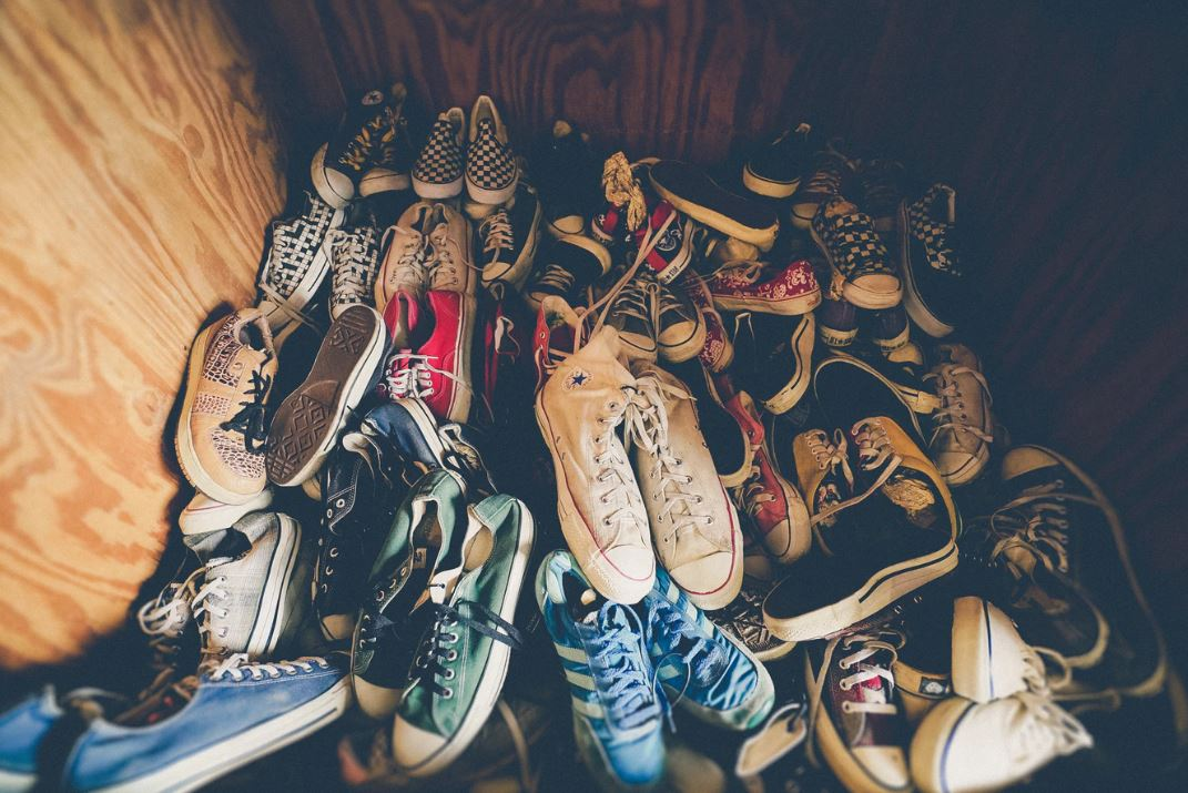 Keeping shoes for outdoor use only has benefits  - Image Credit:  Jakob Owens via Unsplash