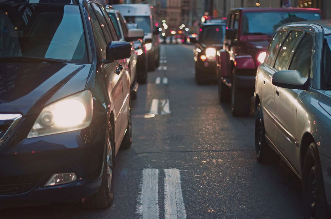 Cars can be a major barrier to physical activity - Image Credit:  Nabeel Syed via Unsplash