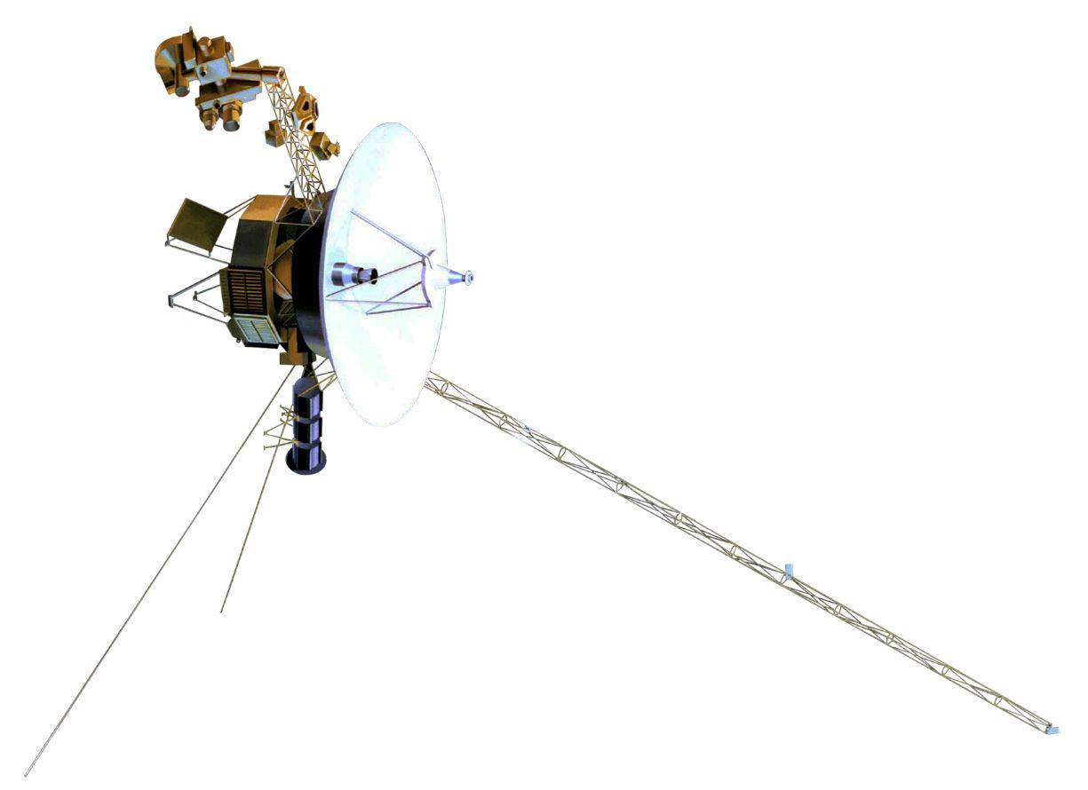 Voyager 1 - Image Credits:  NASA via Wikimedia Commons