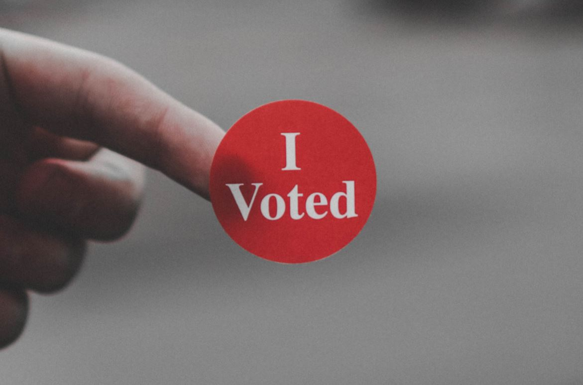 Blockchain could ensure more people are able to vote. - Image Credit:  Parker Johnson via Unsplash   cropped by Universal-Sci