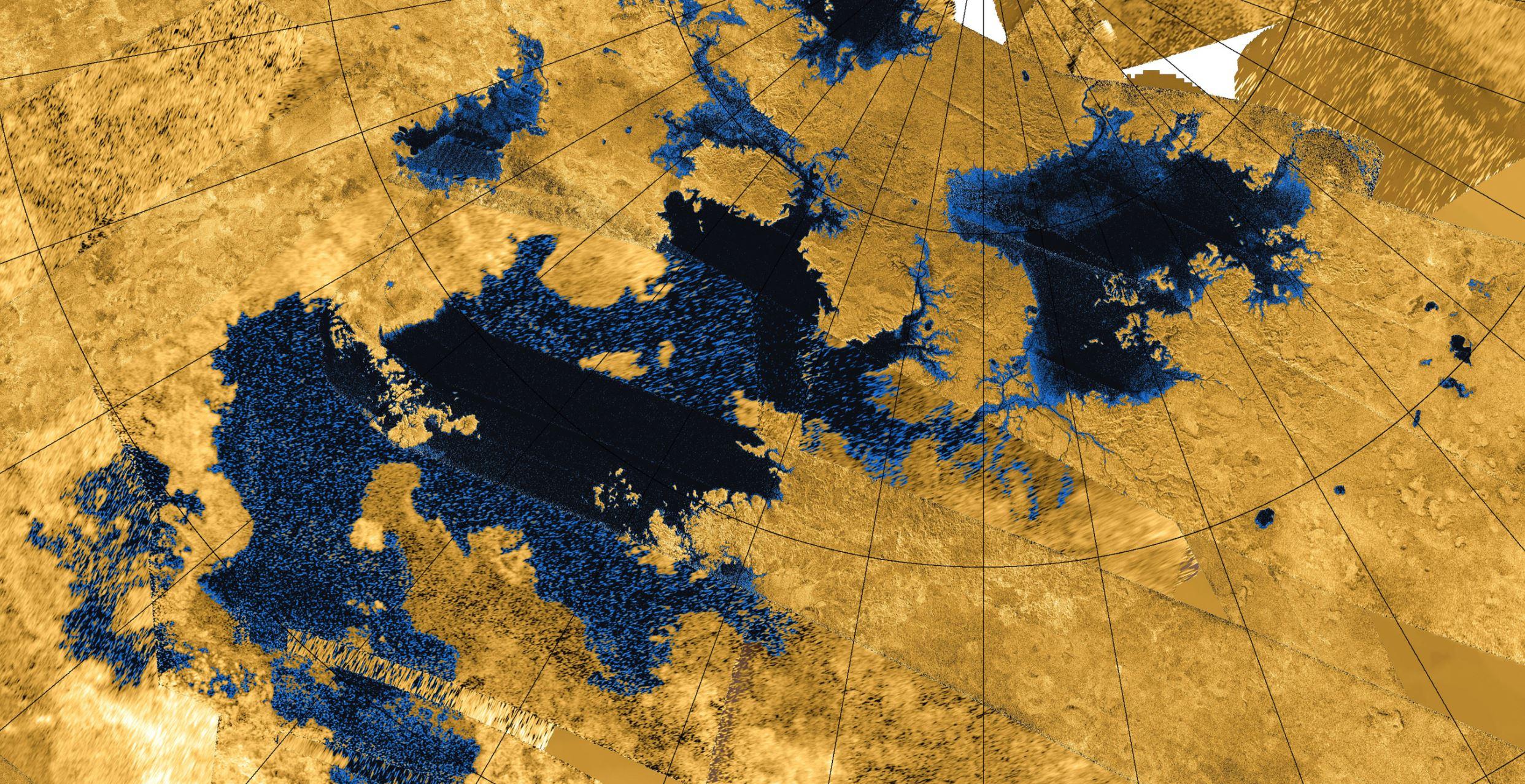 Image Credits:  NASA/JPL-Caltech/Agenzia Spaziale Italiana / USGS via Wikimedia Commons  (Cropped by  Universal-Sci )