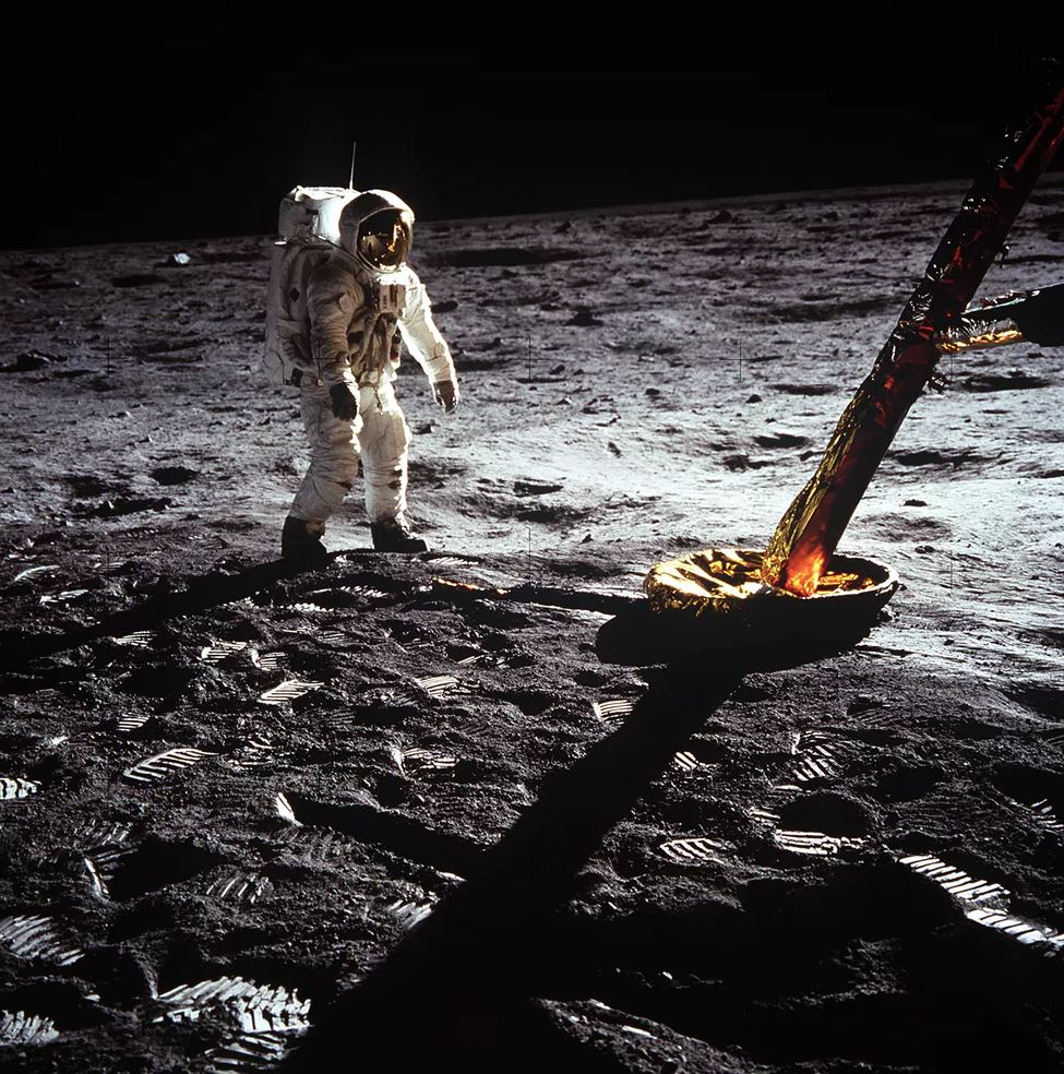 Astronaut Buzz Aldrin was the second man to walk on the Moon and one of the few moonwalkers still alive today. - Image Credits:  NASA