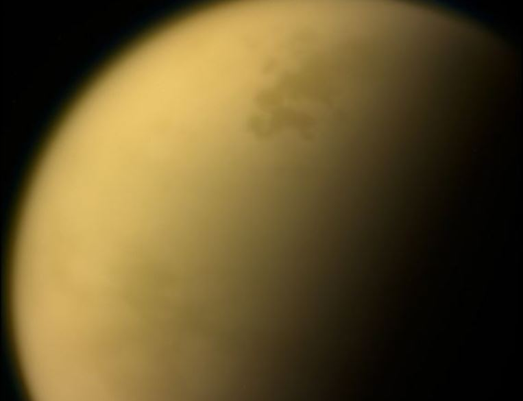 This view of Saturn's largest moon, Titan, is among the last images the Cassini spacecraft sent to Earth before it plunged into the giant planet's atmosphere. - Image Credits: NASA/JPL-Caltech/Space Science Institute