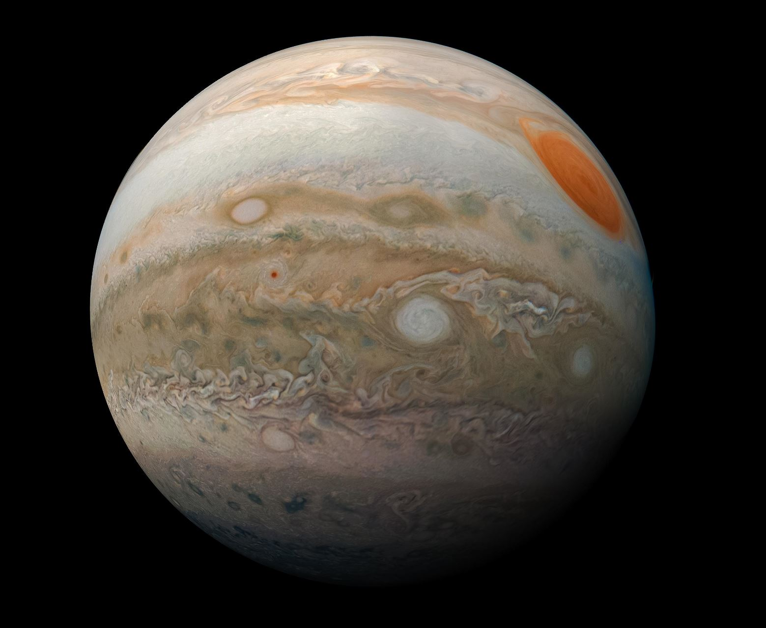 Billions of years ago, Jupiter might have swallowed an entire planet ten times larger than Earth!