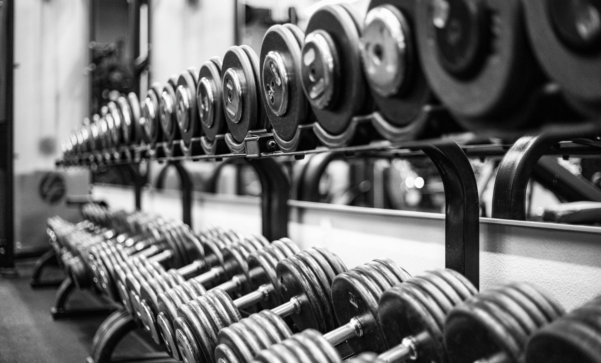 Weight training can be beneficial even later in life, without previous experience - Image Credit:  Luis Reyes via Unsplash  - HDR tune by  Universal-Sci