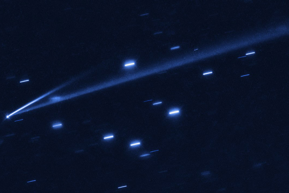 The asteroid in question, also known as 6478 Gault, as seen from the Hubble Space Telescope - Image Credits: NASA, ESA, K. Meech and J. Kleyna, O. Hainaut