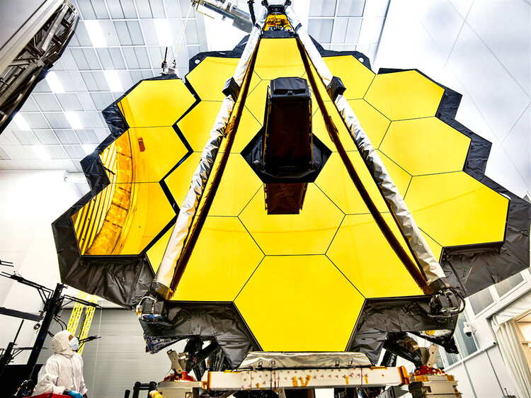 The future James Webb Space Telescope will be able to pick up way more details from exoplanet atmospheres than current space telescopes. - Image Credit:  NASA/Chris Gunn  - HDR tune by  Universal-Sci
