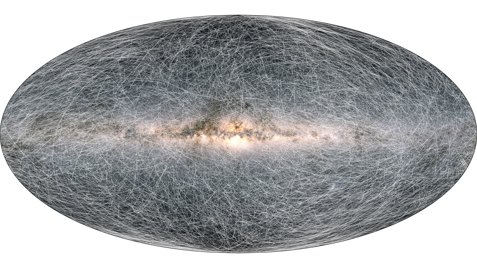 Latest Gaia star database release shows dancing Magellanic clouds