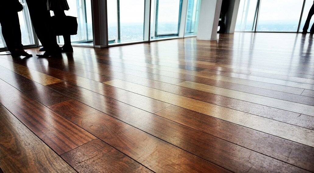 Making use of the piezoelectric effect, we may have floors in the future that generate electricity when people walk on them. - Image: iStock/Getty Images - HDR tune by Universal-Sci