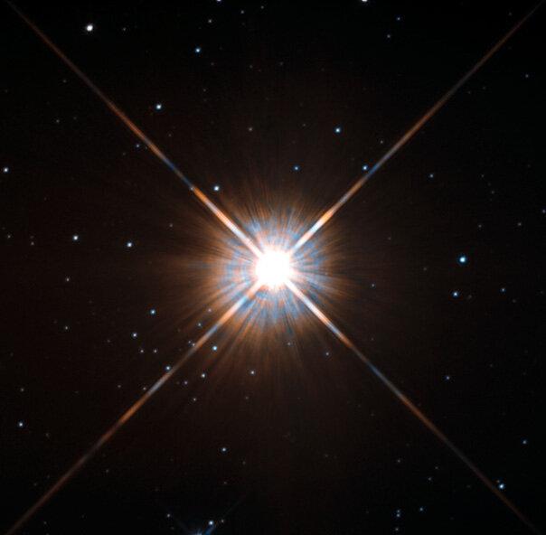Proxima Centuari, our closest stellar neighbour - Image Credit:  ESA/Hubble & NASA