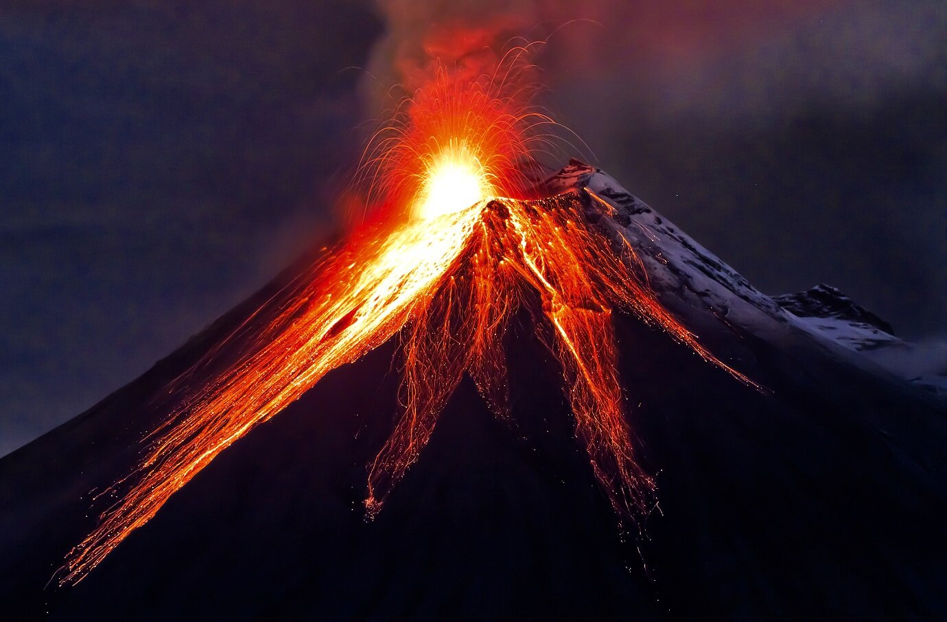 The force released from deep-sea volcanoes is so immense that they could power an entire continent