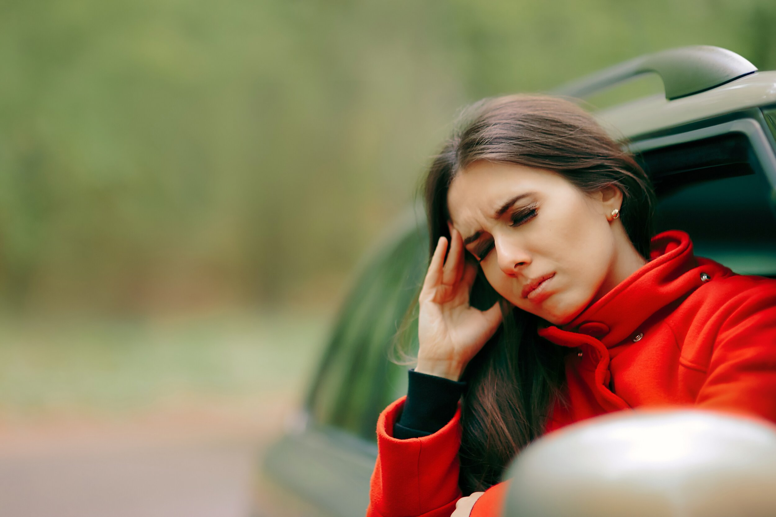 Being carsick can be a great nuisance - Image Credit: Nicoleta Ionescu via Shutterstock - HDR tune by Universal-Sci