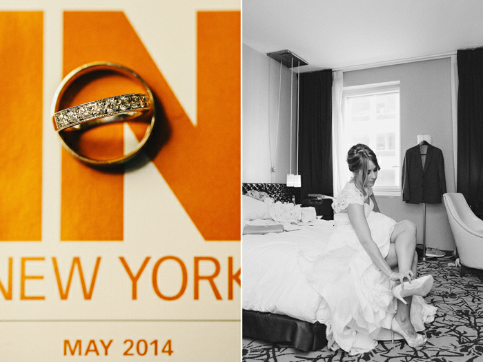 NYC intimate wedding by Tanya Isaeva