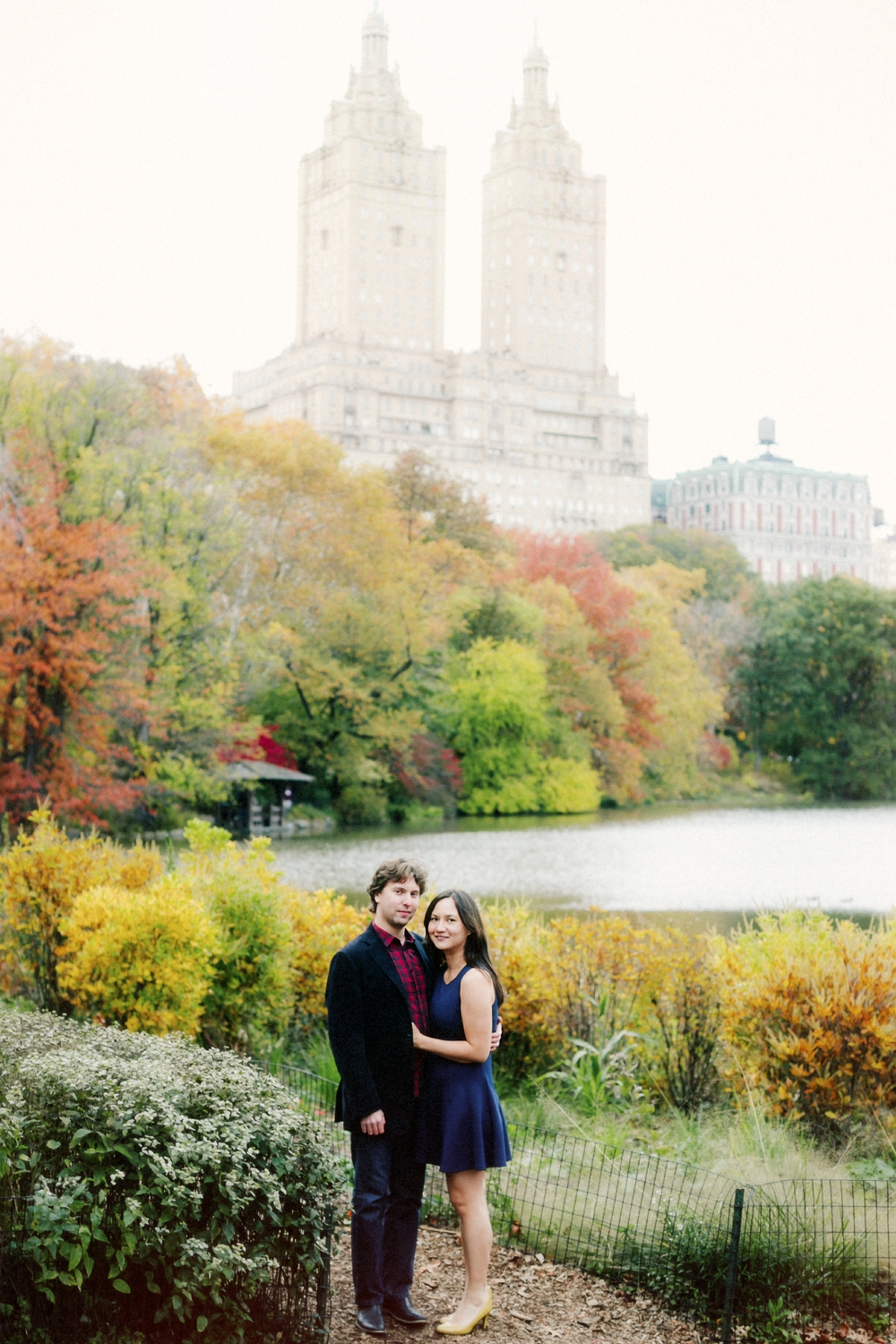 Central Park fall engagement session by Tanya Isaeva Photography