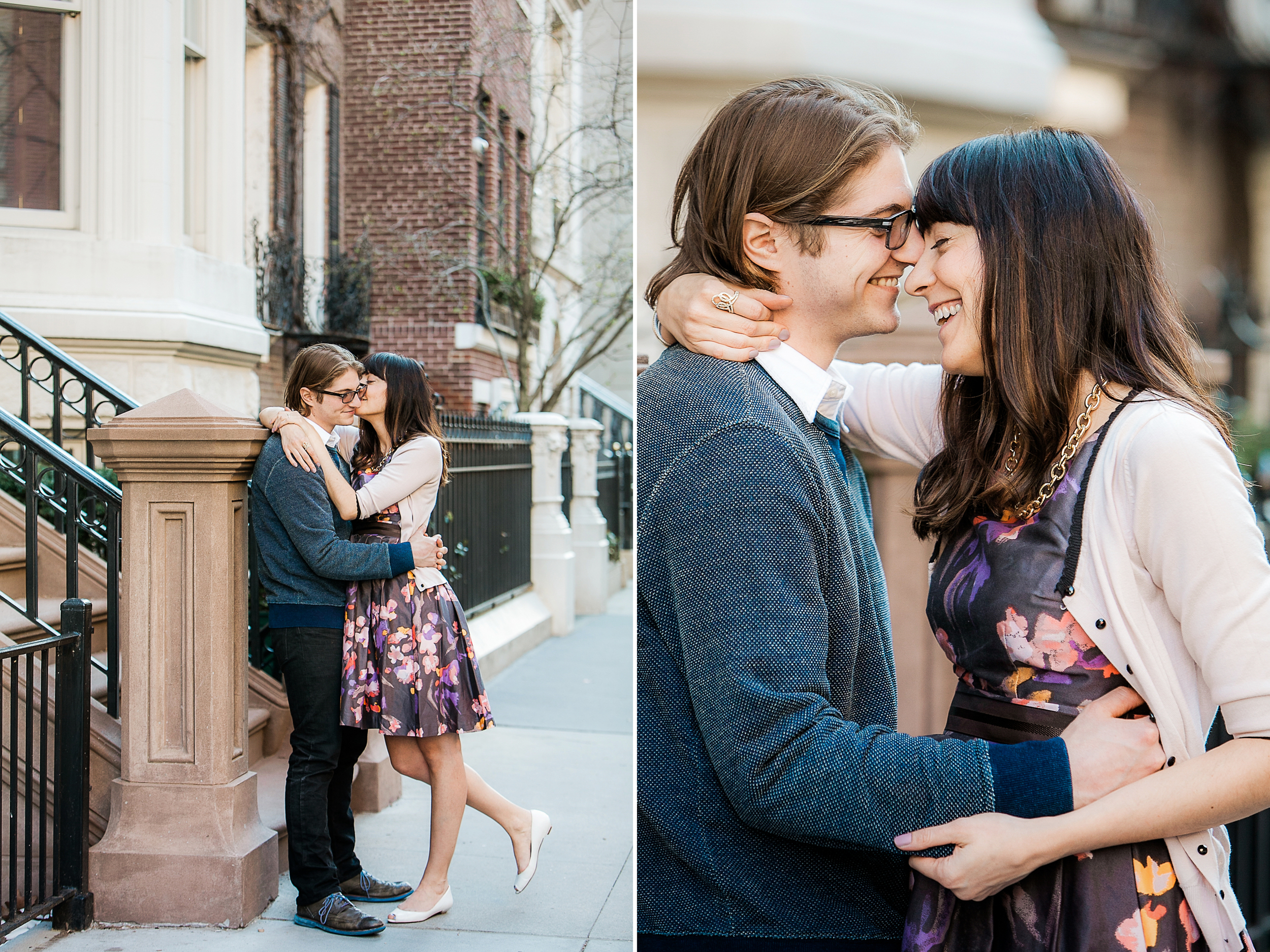 Upper East Side NYC engagement session