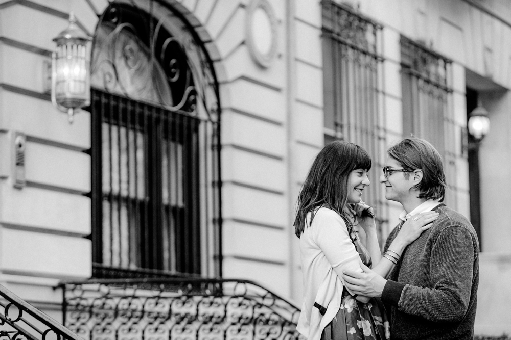 Upper East Side NYC engagement session by Tanya Isaeva Photography