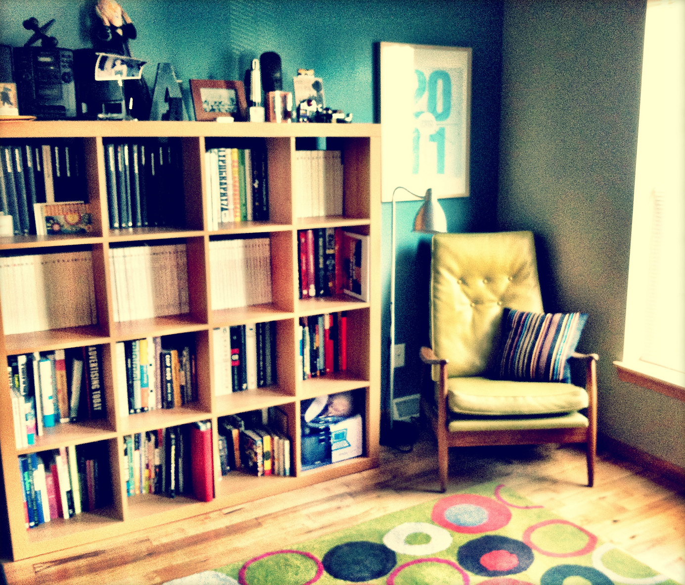 My studio at home. Madison, Wisconsin.