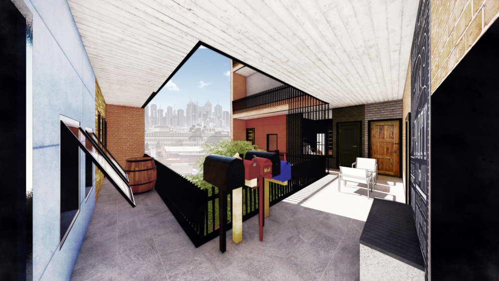 'Footscray Rubik' by Thomas Mitton