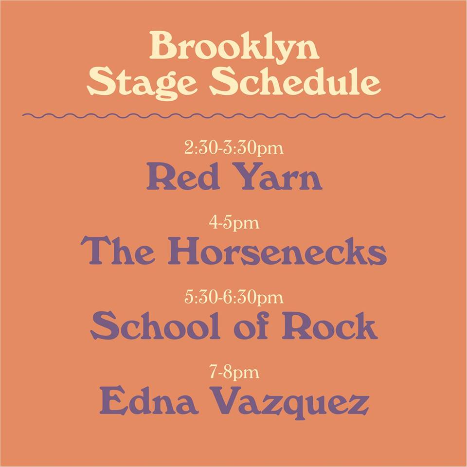 Brooklyn Stage Schedule