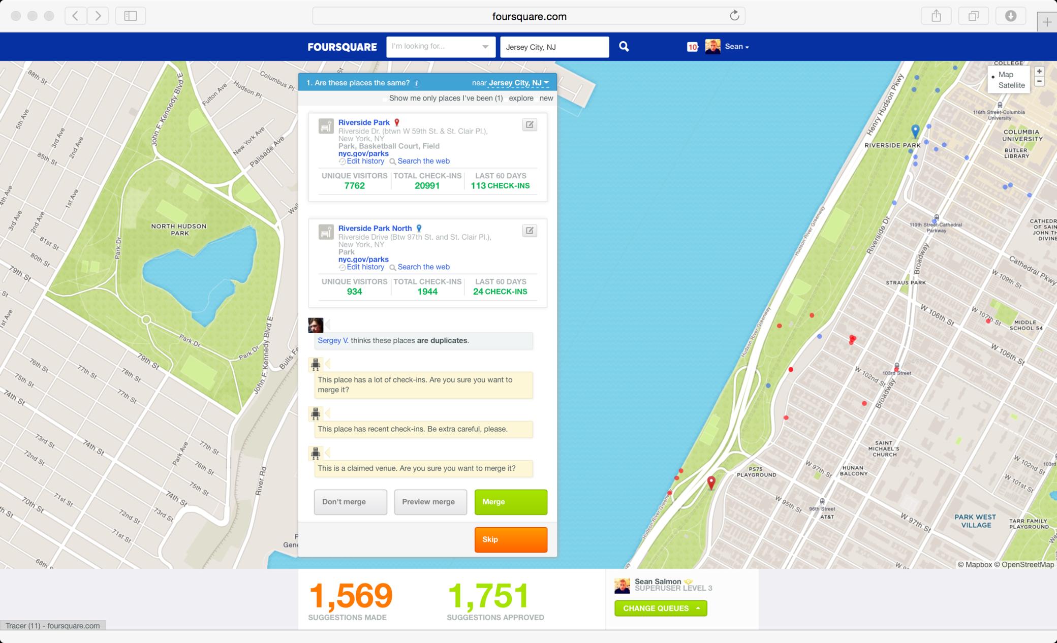 Merge duplicate places - Foursquare.png