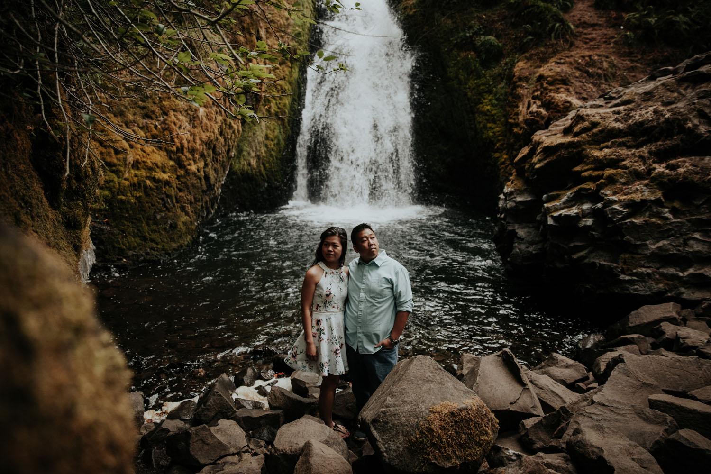 destination wedding photographers atlanta engagment photographer elopement photography oregon Latourell Bridal Veil Multnomah falls 0083.jpg