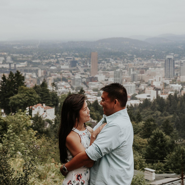 destination wedding photographers atlanta engagment photographer elopement photography oregon Latourell Bridal Veil Multnomah falls 0085.jpg