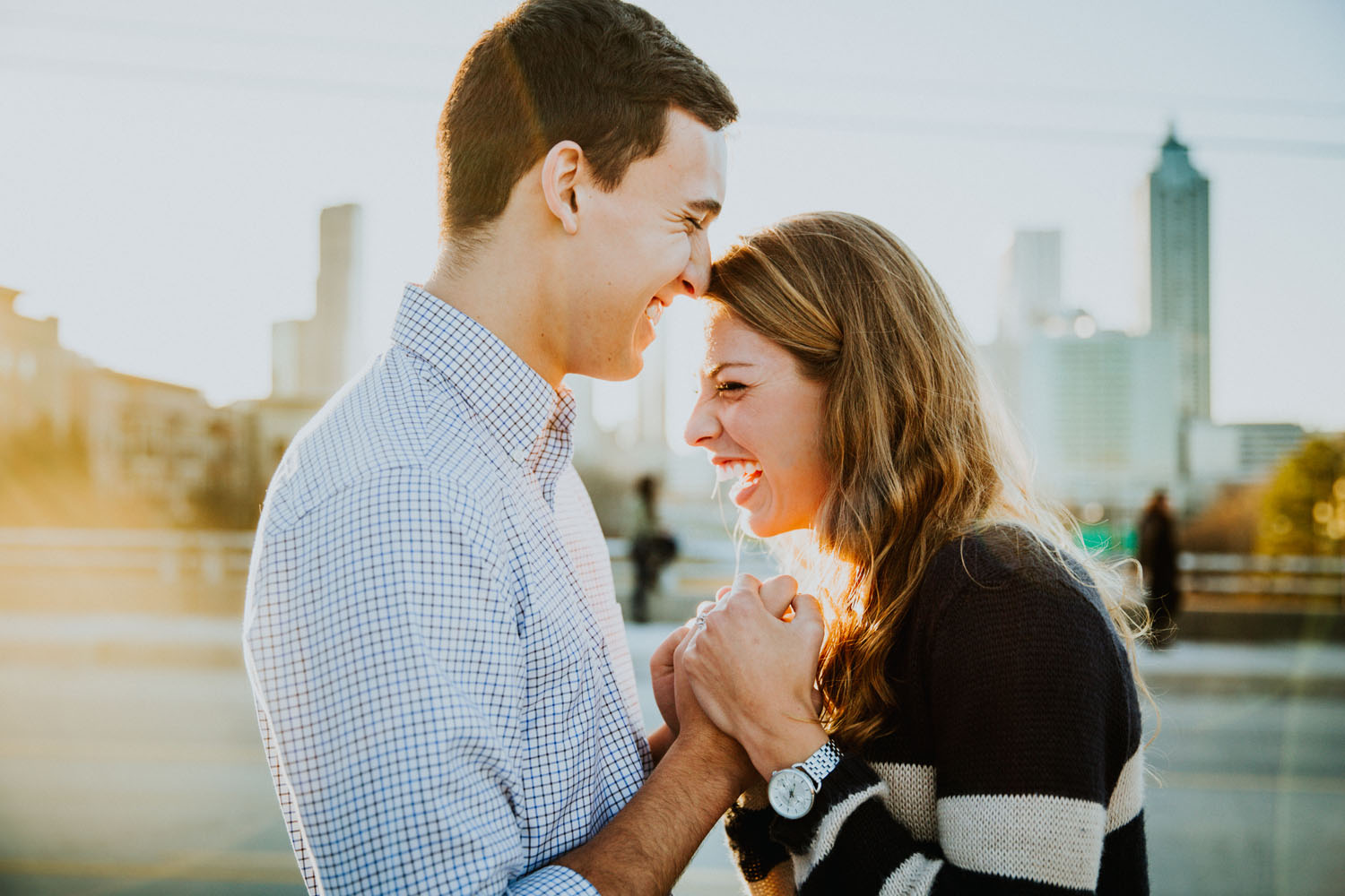 Atlanta best engagement photographers wedding photographer Ga Tech photography Jackson street bridge _ Atalie Ann Photo _1019.jpg