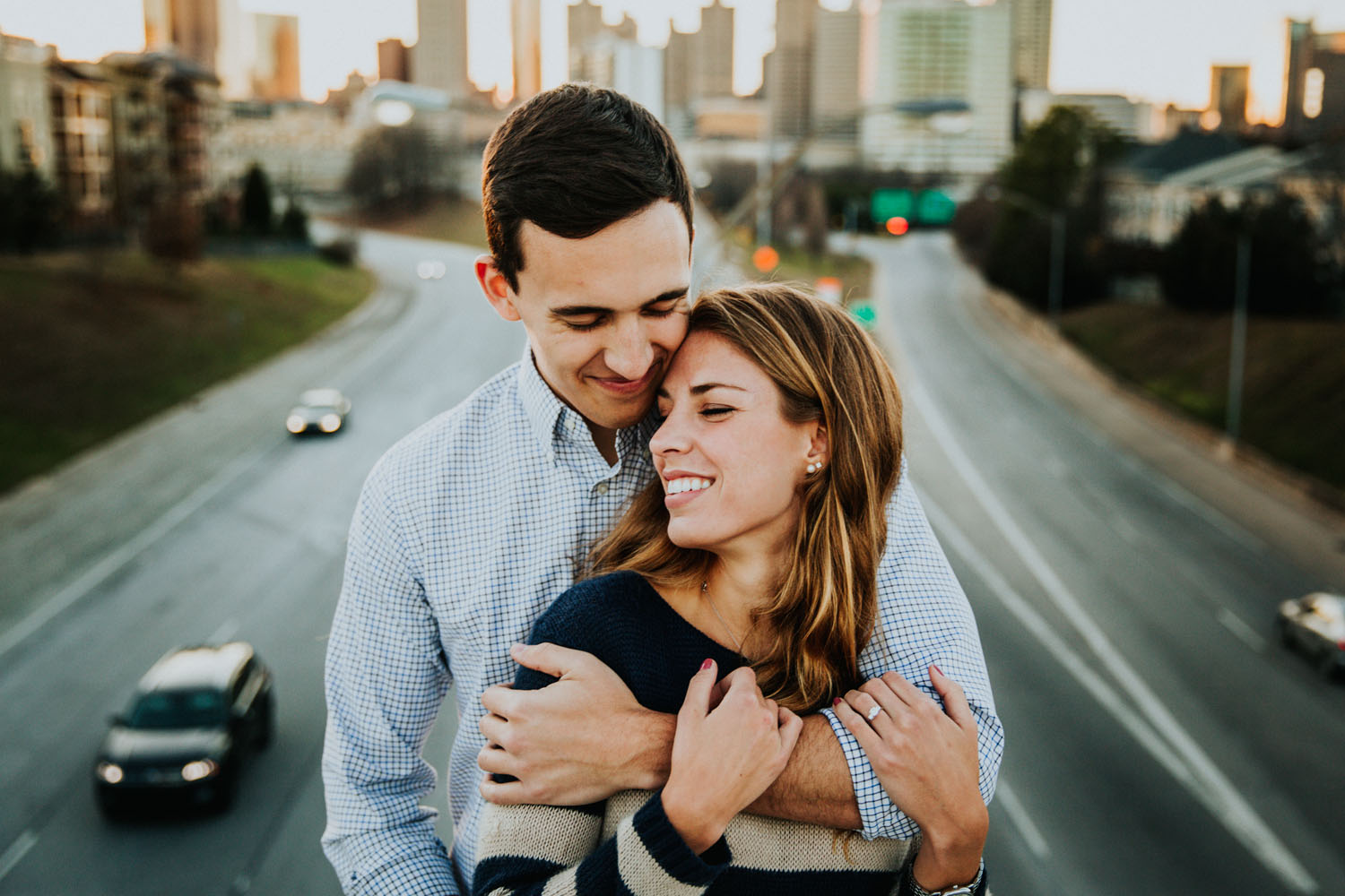 Atlanta best engagement photographers wedding photographer Ga Tech photography Jackson street bridge _ Atalie Ann Photo _1037.jpg