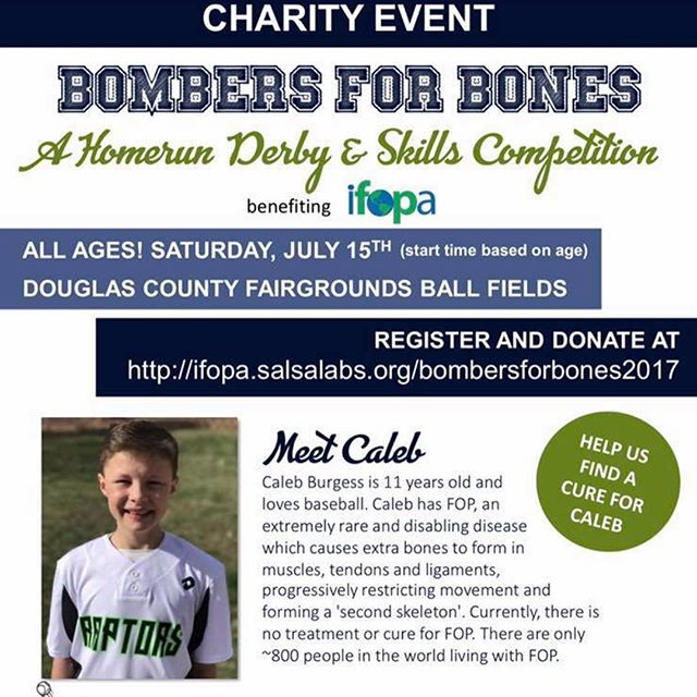 Alright friends. This is the event we are having to support my lil buddy Caleb . Like I said before he is an amazing young man and needs our help to find a cure for this rare disease he is battling. The event is explained below. We will have food , entertainment and a home run derby for all ages. So I'm calling out all my friends who have kids and have an open weekend to come join us. We will definitely have fun and will be supporting a great cause. The link below can be used for registration, donation and corporate sponsors. Let me know if you have any questions. Let's help my lil man find a cure and beat this. We also need volunteers so let me know. Thanks in advance!