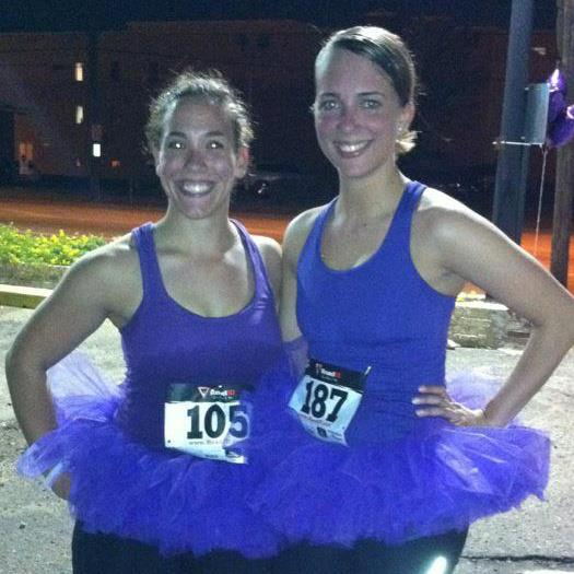 If you have to run a race, why not do it with your friends & dress up for it.
